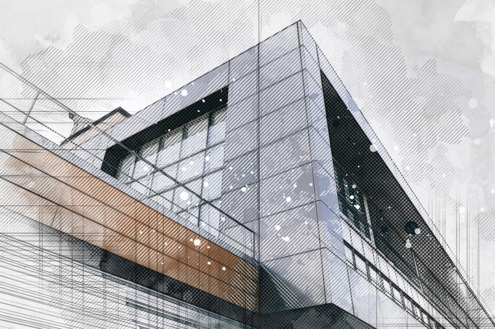 malerei architektonisch geprägt