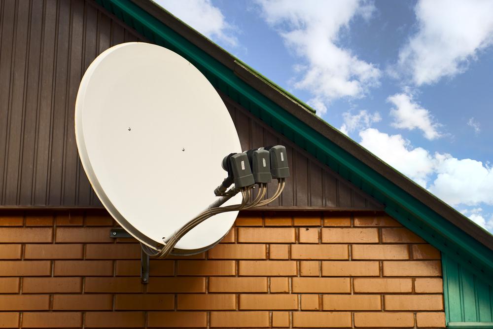Satellitenschüssel einrichten