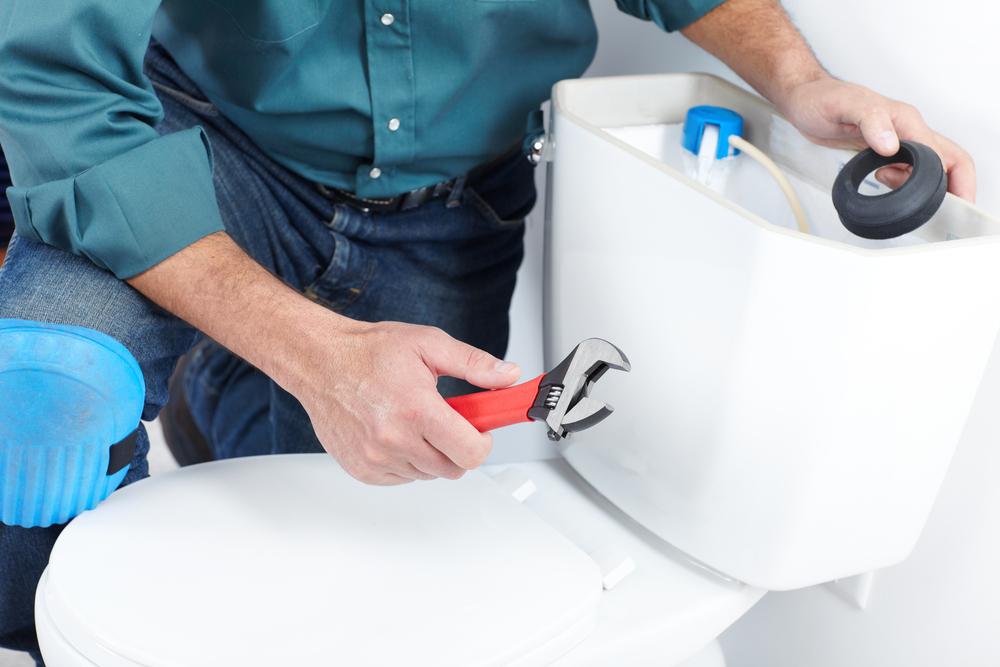 defekte toilette reparieren