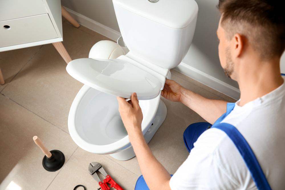 toilette wechseln